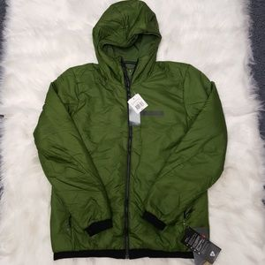Adidas outdoor Women's Green Hooded Jacket XL